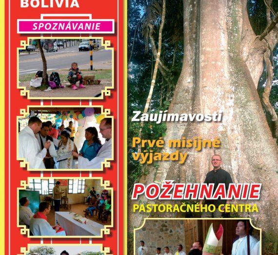 Misie v Bolívii 2/2015