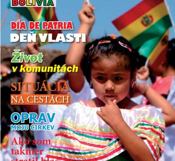 Misie v Bolívii 3/2015
