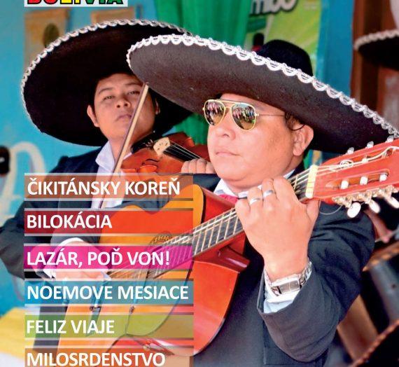 Misie v Bolívii 9/2015
